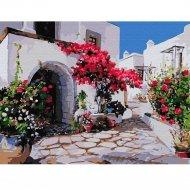 Живопись по номерам «Греческий город» 30 х 40 см.