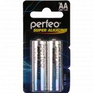 Батарейка «Perfeo» LR6/2BL mini Alkaline.