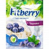 Каша овсяная «Fitberry» с черникой, 35 г.