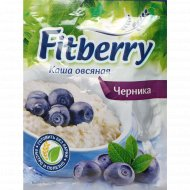 Каша овсяная «Fitberry» с черникой, 35 г