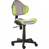 Кресло компьютерное «Signal» Q-G2, зелено-серый