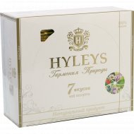 Чай «Hyleys» гармония природы, 7 вкусов, 100 пакетиков, 150 г.