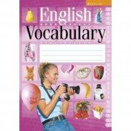 Книга «Английский язык. Тетрадь-словарик (розовая обложка)».