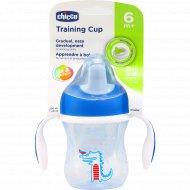 Чашка-поильник «Chicco» treining cup, 6 мес+, 200 мл.