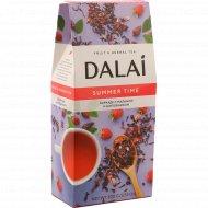 Чай травяной «Dalai» каркаде-шиповником-малина, 100 г.