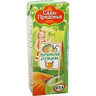 Сок «Сады Придонья» тыквенно-яблочный, 200 мл.