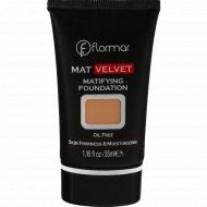 Тональный крем Flormar «Mat Velvet», 202 Soft Beige, 35 мл.