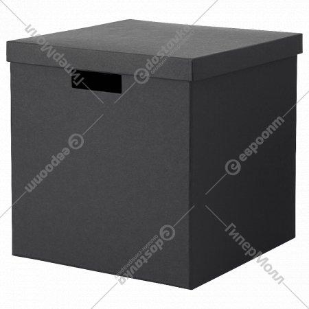 Коробка с крышкой «Тьена» 30x30x30 см.