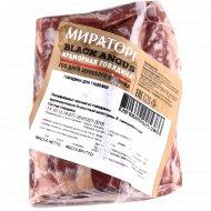Говядина мраморная для тушения «Мираторг» замороженная, 1 кг., фасовка 0.47-0.57 кг