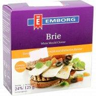 Сыр мягкий «Brie Emborg» с белой плесенью 50 %, 125 г.