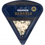 Сыр «Mamen Ost» датский, с голубой плесенью, 50%, 100 г.