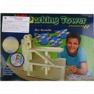 Игрушка-набор «Деревянная парковка» для детского творчества.