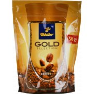 Кофе растворимый «Tchibo» Gold Selection сублимированный, 150 г.