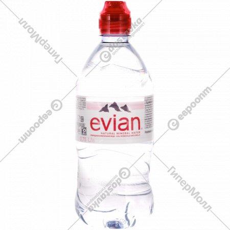 Вода минеральная «Evian» негазированная, 0.75 л.