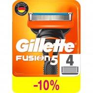 Сменные кассеты для мужской бритвы «Gillette» Fusion, 4 шт.