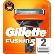 Сменные кассеты для мужской бритвы «Gillette» Fusion, 2 шт.