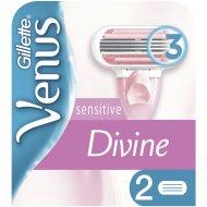 Сменные кассеты для бритвы «Gillette Venus» Divine, 2 шт.