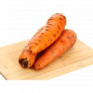 Морковь столовая свежая, 1 кг., фасовка 1-1.2 кг
