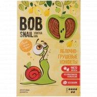 Конфеты яблочно-грушевые «Bob Snail» натуральные, 60 г