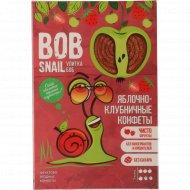 Конфеты яблочно-клубничные «Bob Snail» натуральные, 60 г