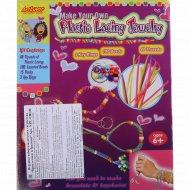 Игрушка-набор «Браслетики и брелоки» для детского творчества.