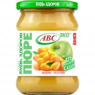 Пюре фруктовое «Будь здоров» яблоко-облепиха, 450 г.