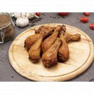 Голень цыпленка копчено-запеченная, охлажденная, 1 кг., фасовка 0.2-0.4 кг
