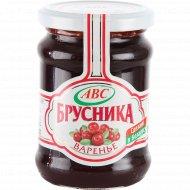 Варенье «АВС» брусника, 300 г.