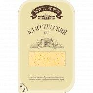 Сыр «Брест-Литовск» классический нарезанный 45 %, 150 г.
