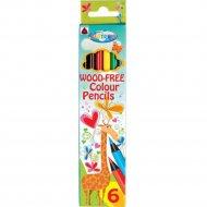 Карандаши цветные «Giraffe» 6 цветов