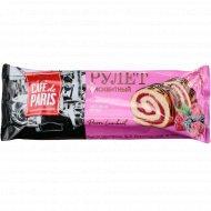 Рулет бисквитный «Cafe de Paris» со вкусом лесных ягод, 145 г.