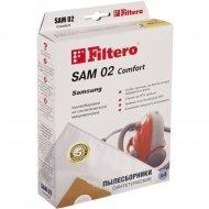 Пылесборники «Filtero» SAM 02(4),эконом.