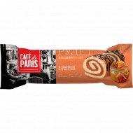 Рулет бисквитный «Cafe de Paris» с вареной сгущенкой, 145 г