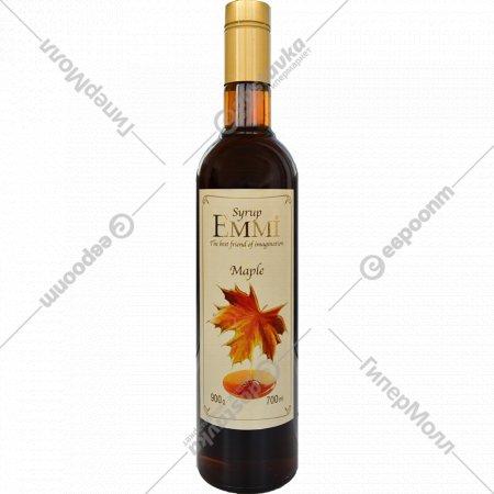 Сироп «Emmi» со вкусом кленового сиропа, 0.7 л