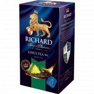 Чай черный «Richard» лайм и мята, 25 пакетиков.
