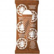 Мороженое пломбир «Рожок» шоколадный, 80 г.