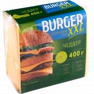 Сыр плавленый «Burger XXL» чеддер, 45%, 400 г