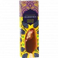 Мороженое «Bahroma» чернослив в двойном шоколаде, 75 г.