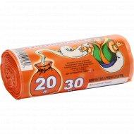 Пакеты для мусора «Властелин мешков» суперпрочные, 20 л, 30 шт.
