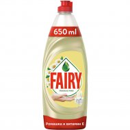 Средство для мытья посуды «Fairy» ромашка и витамин E, 650 мл.