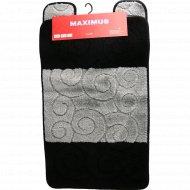 Набор ковриков для ванной комнаты «Sile» PS2513, 2 шт.