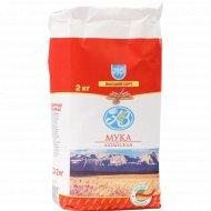 Мука пшеничная «Азбука Вкуса» Алтайская, 2 кг.