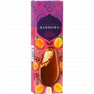 Мороженое «Bahroma» курага в двойном шоколаде, 75 г.