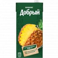 Нектар «Добрый» ананасовый, 2 л.