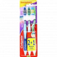 Зубная щётка «Colgate» ЗигЗаг для всей семьи 2 + 1 шт.