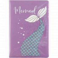 Ежедневник «Mermaid» недатированный, A5, 136 листов.