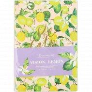 Ежедневник «Vision. Lemon» недатированный, B6, 136 листов.