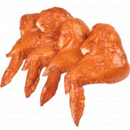Крылышки цыплят-бройлеров «Столичные Люкс» копчено-вареные, 1 кг., фасовка 0.3-0.55 кг