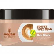 Маска для волос «Vegan» coffee & soy milk latte, 250 мл.
