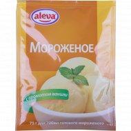 Десерт для мороженого «Алева» с ароматом ванили, 75 г.